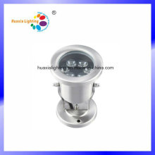 3W LED Underwater Lighting with Dia-Casting 304 Stainless Steel