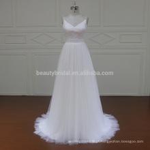 1260 Spaghetti Strap no atacado vestidos de noiva vestidos de noiva