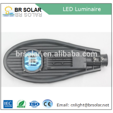 high transparent toughedend glass solar ip camera with led street light