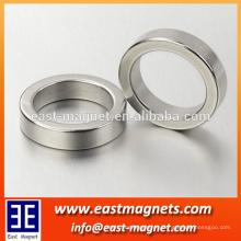 Imán de anillo permanente de neodimio de tierra rara de East-Magnet