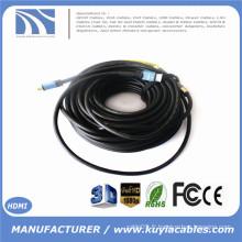 KuYia Long Ultra Câble HDMI avec répéteur Construit en 2.0VM / M Support 4k * 2k 2016P 10m 15m 20m 30m 40m 50m