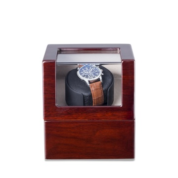 Classic Red Finish Single Rotor Watch Winder