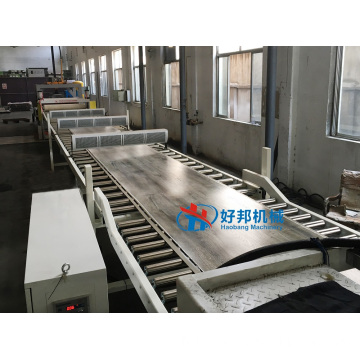 MACHINE DE PRODUCTION DE CARREAUX DE SOL SPC