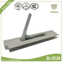 Serrure de ridelle verticale en profilé d'aluminium anodisé