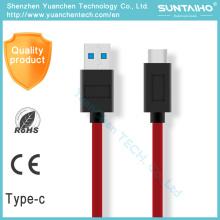 USB 3.0 Type-C Fast Charging Sync Cable de datos para MacBook