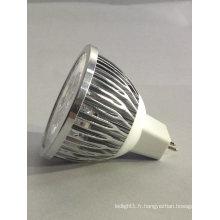 Nouveau DC / DC 12V CE RoHS MR16 4X1w Ampoule Spot LED