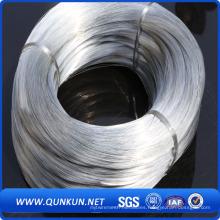 Encuadernación de alambre galvanizado de 0,2 mm a 4,0 mm en calidad suave