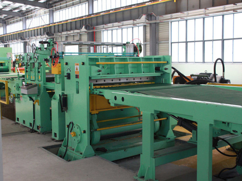 high speed cut to length line