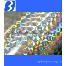 pet/bopp holographic film