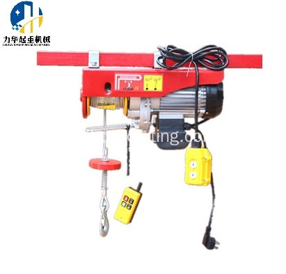 mini electric 100kg lifting mini electric hoist