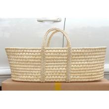 (BC-BA1008) Корзина качества младенца высокого качества естественная соломенная Handmade