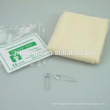 Vendaje triangular de algodón médico