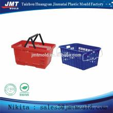 productos para el hogar molde de la cesta de compras de inyección de plástico