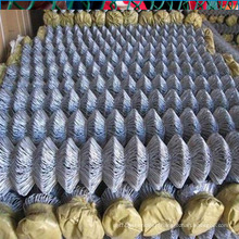 Diamond pvc coated wire mesh/chain link fence price