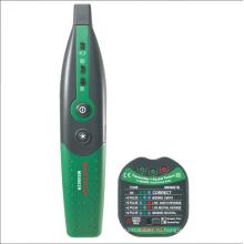 MS5902 Автоматический выключатель, поиск предохранителей, тестер розеток США / ЕС, автоматический выключатель