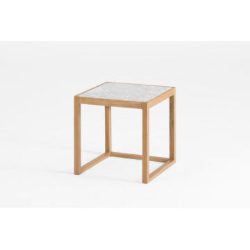 "FAS OAK ""Inkstone"" Nest Side Table"
