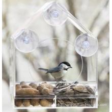 Removable Acrylic Window Bird Feeder (ymb6022)