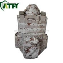 Chaleco táctico de alta calidad del chaleco del ejército de la armadura del chaleco kevlar de la chaqueta del cuerpo