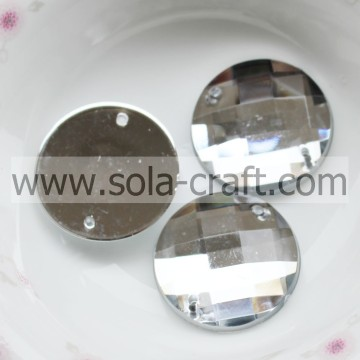 Facettierte 16mm Diamond Cut Acryl Kristall Kronleuchter Prisma Perlen