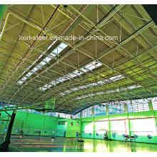 Low-Cost-Stahl-Baustelle Truss Dach für Basket Ball Court