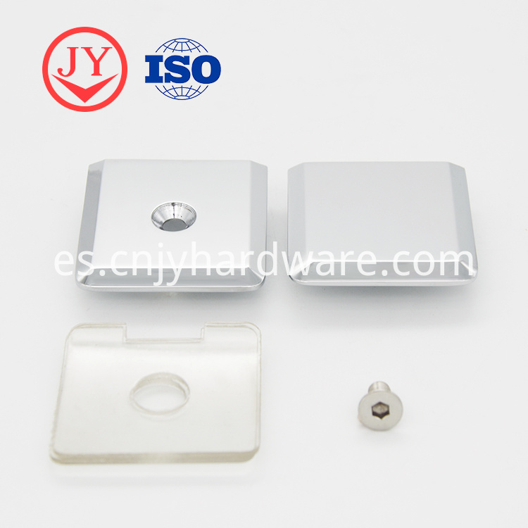 Pulley Glass Door Hanging Glass Clamp For Termper Glass