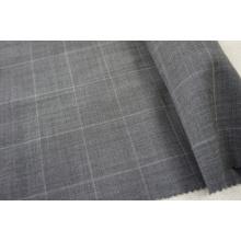 Gry Plaid tecido de lã para Suit