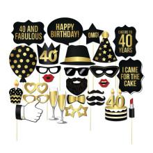 FQ-Marken-Bart Geburtstagsfeier erhalten Maske zusammen