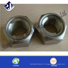 Fournisseur de noix métallique hexagonal