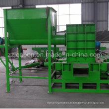 Machine de presse à sertir à sciure à bois usée