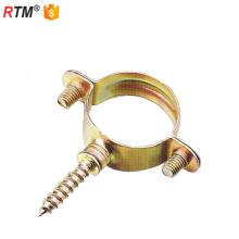 Abrazadera de tubo de acero galvanizado B17 3 8 M7 para abrazadera galvanizada de madera
