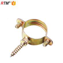 B17 3 8 M7 galvanized steel pipe clamp for wood galvanized clamp