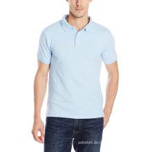 Herren Einzelhandel Custom Pique Stoff Uniform Polo-Shirt
