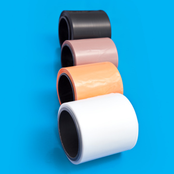 0,003mm Resistensi Korosi Warna Ptfe Film