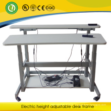2015 movable hospital monitor desk electric axim double sided height adjustable desk frame