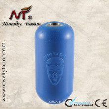 N302002 Blue Soft Silica Gel Tattoo Machine Gun Grip Cover