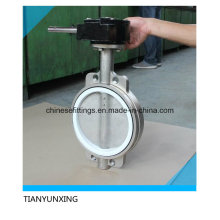 PTFE Seat Stainless Steel Butterfly Valve