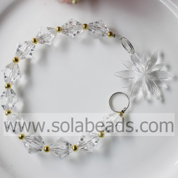 Top verkopen 260MM lengte Crystal Beading Dropping