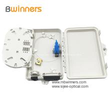 Cajas de terminación de fibra óptica de montaje en pared de 2 núcleos