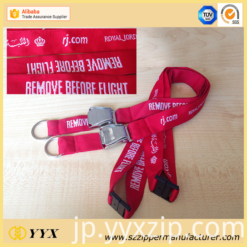 Remove before flight lanyard