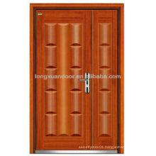 Apartment entry doors, Mom son steel wood armored door