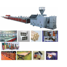 PVC WPC Building Template/Sleeper Board Extrusion Line