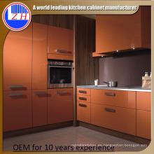 2015 Nuevo armario de cocina de fibra (color brillante o mate)