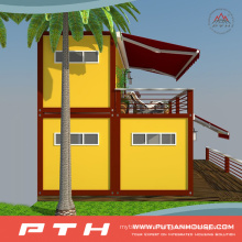 Luxury Flat Pack Container as Prefabricated Living House