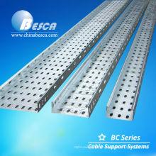 Bandeja de cabos perfurada com UL testado e CE listado (ISO9001 autorizado Factory)