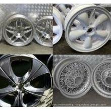 electrostatic coating for car parts