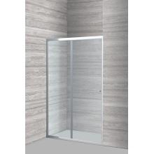 Badezimmer mit Dusche aus gehärtetem Glas