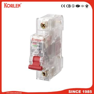 Miniature Circuit Breaker 4.5KA 63A 4P with SIRIM