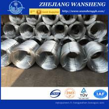 Filé en acier à ressort à haute résistance 2,2 mm / Fil métallique / Matelas à fil en acier à ressort