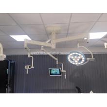 Luz hueca tipo LED para sala de hospital.
