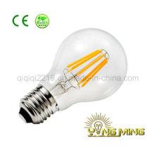 5W A19 limpar E26 dim bulbo de filamento de LED